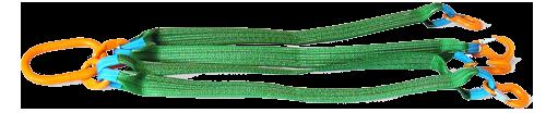 4СТ -Четырехветвевой строп текстильный